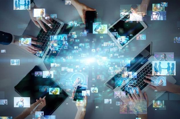 Red de usuarios usando las soluciones en la nube de Alestra