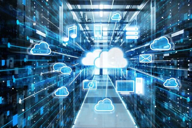 Representación de la gran cantidad de posibles archivos críticos a respaldar en una nube privada